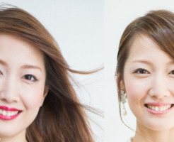 モデル事例・眉の描き方とファッションタイプ